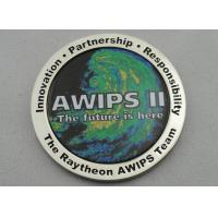Best OEM & ODM AWIPS Coin / Zinc Alloy Awards Personalized Coins with Offset Printing, Imitation Cloisonne Enamel wholesale