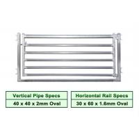 Best Australia1.8mx2.1m 6 rails pre-hot dipped galvanized sheep yard panel wholesale