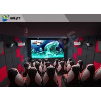 Best ISO Certificate 5d Theater System / 5D Cinema System 24 People Mobile Movie Theater wholesale