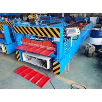 Best High Fast IBR Roofing Sheet Roll Forming Machine full Automatic Control wholesale