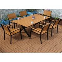 Best Leisure Wood Plastic Composite Outdoor Furniture Slats Anti - Corrosion wholesale