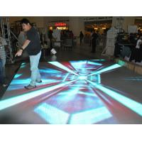 Best Colorful & beautiful LED dance floor / floor LED display with R / G / B 12bit, 50 / 60 Hz wholesale