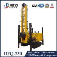 Best DTH Blasting Construction, DFQ-250 DTH Hammer Hydraulic Bore Well Drilling Machine wholesale