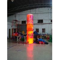 Best 5m Customized Color Advertising Helium Balloons Inflatable Pillar With Light For Party wholesale