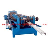 Best High Frequency PLC CZ Purlin Roll Forming Machine With Gear Box Transmission wholesale