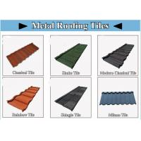 Best House Aluminum Roof Tiles , Aluminium Zinc Roofing Sheets Galvalume steel sheet 0.40mm wholesale