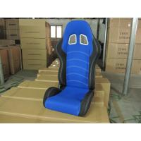 Cheap Cloth Fabric Material Sport Racing Seats Fully Reclinable / Auto Car Seats for sale