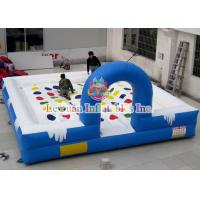 Best Attractive Inflatable Outdoor Games , Twisted Entanglement Games For Kids wholesale