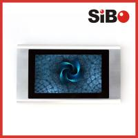 China On Wall Aluminum Shell POE 7inch Touch Screen for Conference Room on sale
