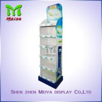 Best Supermarket 6 tiers corrugated cardboard retail display stands for vacuum cup wholesale