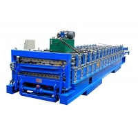 Best IBR Sheet Corrugated Sheet 0.8mm Double Layer Roll Forming Machine wholesale