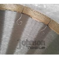"Buy cheap 12"" Welded Marble Cutting Blade with J Slot for Continous Smooth Cutting No Chipping from wholesalers"