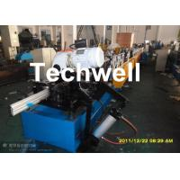 Best 120mm Diameter Roller Shutter Forming Machine With Hydraulic Cutting TW-RSD85 wholesale