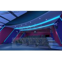 Best Attractive Theme 5D Movie Theater With 7.1 Audio System And Pipes wholesale