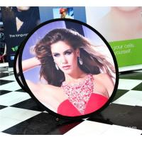 Best Small Round Trade Show Banners Stand For Indoor Display 100*100cm wholesale