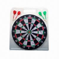 Best Paper Dart Board with Flocking, Various Sizes are Available, Measures 12 x 1/2 Inches wholesale
