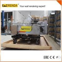 China Automatic Rendering Spray Plastering Machine For Internal Wall High Speed on sale