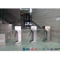 Best Vertical Tripod Access Control Turnstiles Semi - Auto Compact For Outdoor wholesale