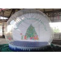 Cheap Customized Outdoor Snow Globe Inflatable High Transparency For Decoration for sale