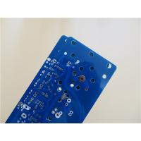 Best 4 Oz Copper Power Supply Board Built On 2.0mm thick FR-4 With blue soldermask wholesale