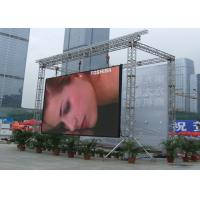 China Waterproof Outdoor High definition P10 LED Display Screen for Video Advertising on sale