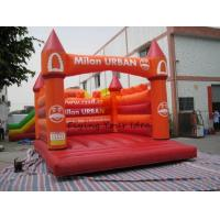 Best Fireproof Inflatable Castle Bouncer Advertising , Colorful wholesale