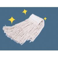 Cheap Commercial Dust Head Cotton Wet Floor Mop WIth polymer yarn connector wholesale