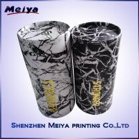Cheap Recycle Printing Artwork Logo Paper Tube Box , Customized Cylinder Gift Box for sale