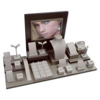 Best Chocolate Jewelry Display Stands 24 Piece Showing Set With Promotion Photo wholesale