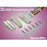 Single Row 1.25 mm Pitch Connector Locked Wire To Board SMT Terminal