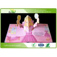 Quality Delicate Coated Paper Snappy Pop Up Books with Perfect Binding Film Lamination Surface wholesale
