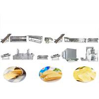 Best Stainless Steel Automatic Potato Chips Making Machine Multi Function 2 Years Service wholesale