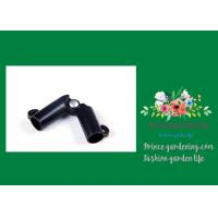 Cheap Sturdy Plastic Garden Stake Connectors Black Color Adjustable Angle 0 - 170 Degrees for sale
