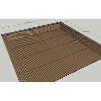 Best Composite WPC Construction Board low location floor area for coffee shop wholesale