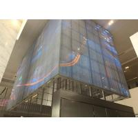 Best P5mm SMD 3-in-1 RGB Outdoor Transparent LED Video Wall Outdoor Glass LED Screen wholesale