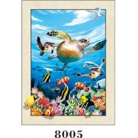 Best Stunning Sea World Animals Painting 5D Pictures / Lenticular Photo Printing wholesale