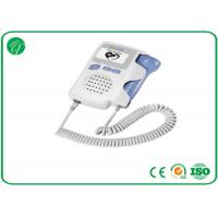 Best 3MHz Probe Fetal Doppler Machine For Baby Heart Rate Alkalinity Battery wholesale
