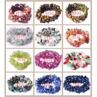 Best Natural Semi Precious Bracelet, Chip Beads Bracelet, Semi Precious Gem Jewelry wholesale