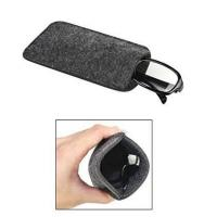 Best Dark Grey Ladies Soft Sunglass Case With A Plush Styrene Interior wholesale