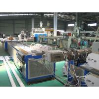 Best Twin Screw Plastic Extruder Machine For Window And Door Profile With PLC Control System wholesale