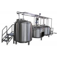 Best 10BBL Custom Electric All Grain Home Brewing Equipment 100L - 5000L wholesale
