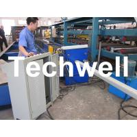 Best PLC Frequency Control System Rainspout Roll Forming Machine for Rainwater Downpipe wholesale