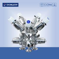 Quality SS sanitary Multiport pneumatic diaphragm valve with C - TOP for pharmaceutical industry wholesale