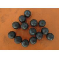 Buy cheap High hardness hot rolling grinding steel balls for ball mill use , Dia 20-60mm from wholesalers