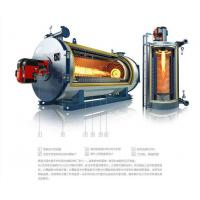 Cheap Horizontal Gas Fired Electric Thermal Oil Boiler 300kw For Wood , Less Water for sale