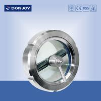 Best DN150 SS304 / 1.4404  Stainless Steel Sight Glass for observing fluid installed on tank side wholesale