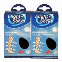 Best Graduated Compression Stocking of Flight Socks Prevent Lower Limbs Varicosity and Sport wholesale
