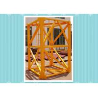 Quality Steel Building Crane Mast Section , Mast Tower Crane Model Climbing Platform wholesale