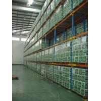 Six Level Warehousing Heavy Duty Pallet Rack Cold Rolled Steel 7.5M Height