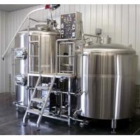Best Small Stainless Steel Commercial Beer Brewing Equipment 100L - 5000L wholesale